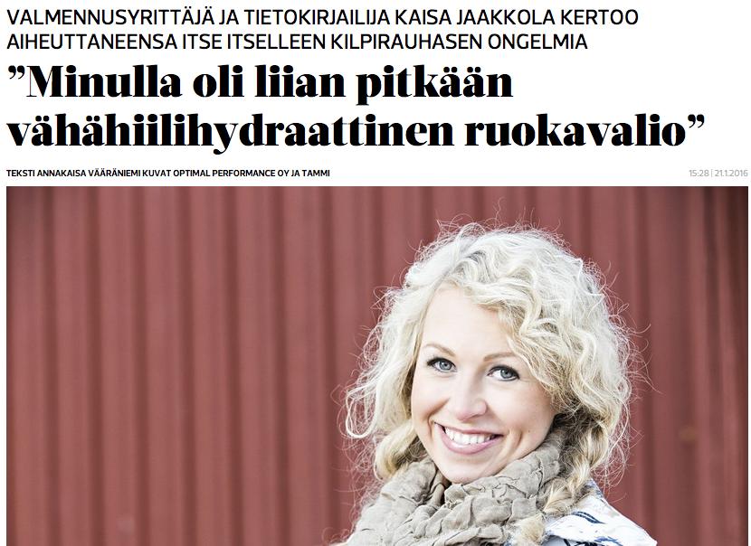 ET-lehti Kaisa Jaakkola